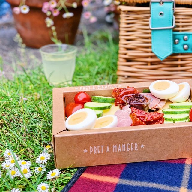 pret's new food platters are perfect for picnics