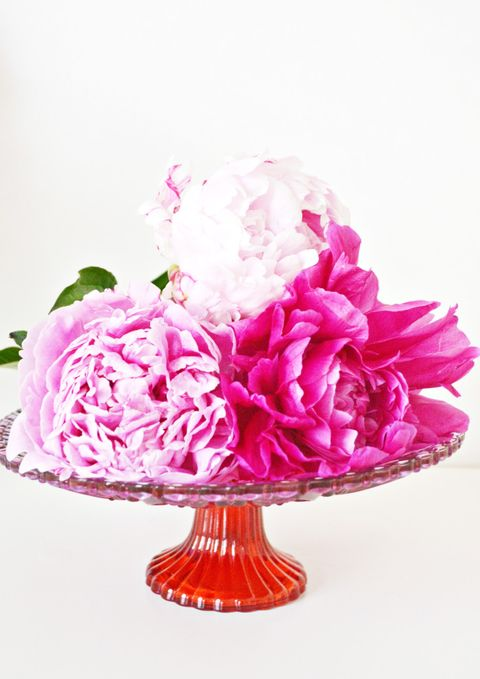 pink peony centerpiece best bridal shower ideas