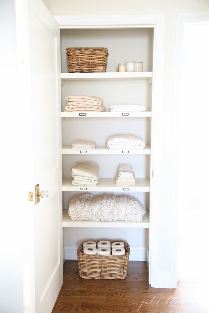 1 Minimal Linen Closet. Image