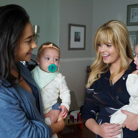 Pretty Little Liars: The Perfectionists, Alison DiLaurentis, Sasha Pieterse, Emily Fields, Shay Mitchell