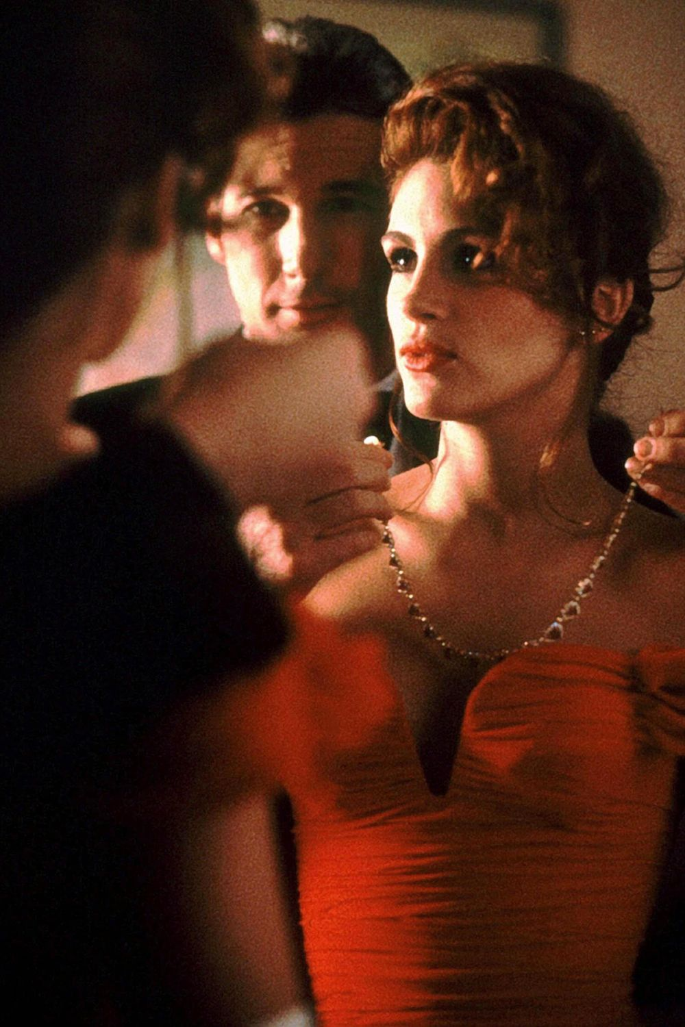 Pretty Woman (1990) The movie that made Julia Roberts a star (and earned her a best actress Oscar nom). Vivian (Roberts) is a Hollywood prostitute hired as an escort by a wealthy businessman (Richard Gere), and over their week of social events and parties together, the two develop an unlikely love.
