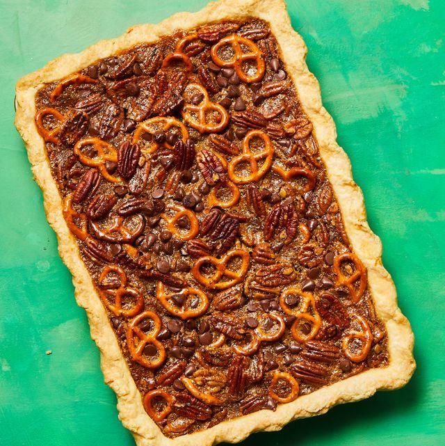 pretzel chocolate pecan pie bars