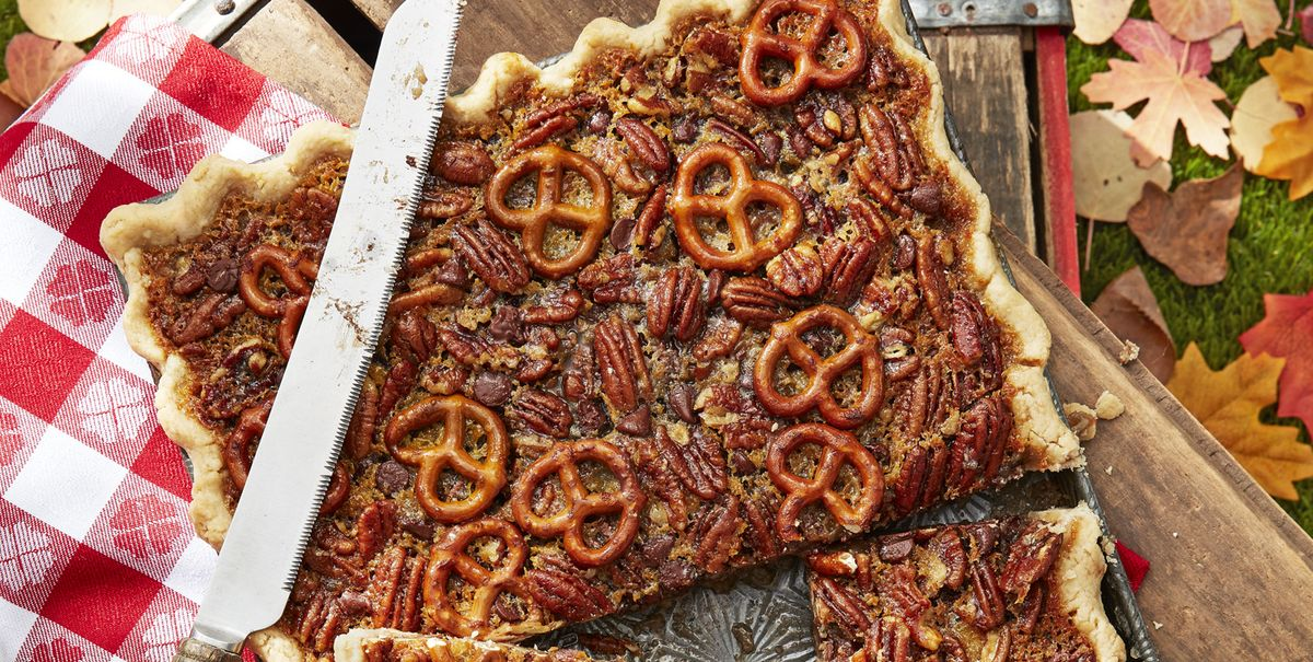 Best Pretzel Chocolate Pecan Slab Pie Recipe How To Make