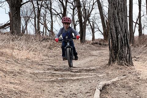 Prevelo Kids Bike Testing