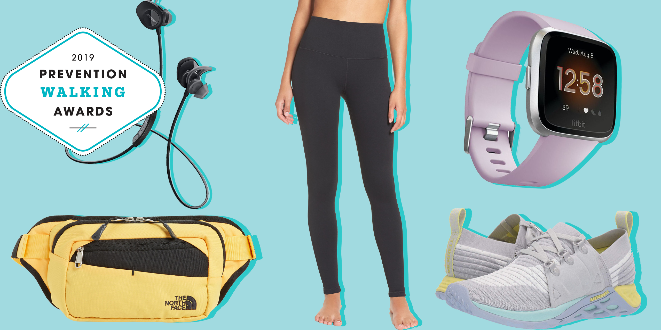 Prevention's 2019 Walking Awards: The Best Fitness Gear to Help You Stay Motivated