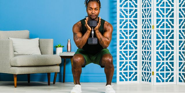 This Easy Lower Body Workout Strengthens Your Legs in 20 Minutes