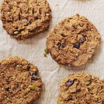 pumpkincherry breakfast cookies
