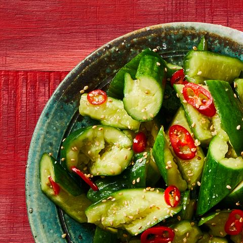 Prevention Spicy Bashed Cucumbers Recipe