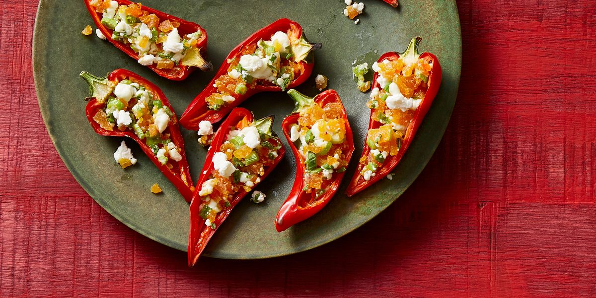 These Stuffed Fresno Chiles Are As Healthy As They Are Spicy