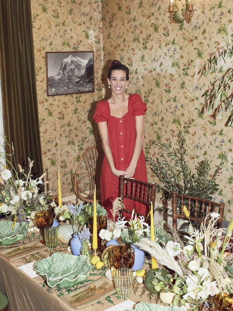 How to style a vintage Christmas, with Laura Jackson
