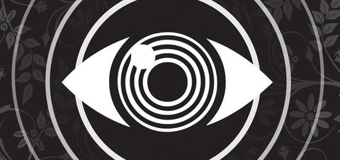 Black-and-white, Circle, Monochrome, Spiral, Monochrome photography, Font, Pattern, Graphics, Logo, Graphic design,