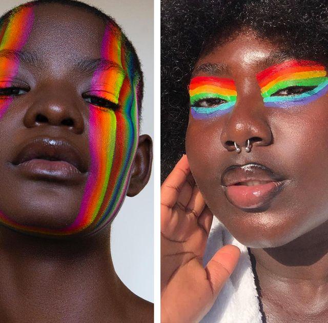 pride makeup ideas