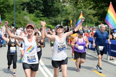 Marathon, Long-distance running, Running, Athlete, Recreation, Outdoor recreation, Half marathon, Sports, Individual sports, Crowd,