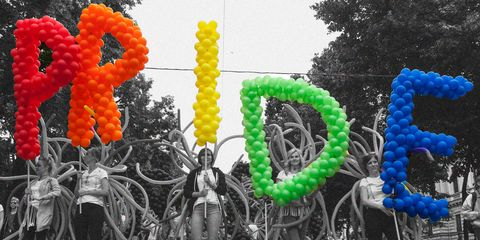 Balloon, Party supply, Colorfulness, Architecture, Font, Organism, Fun, Plant,