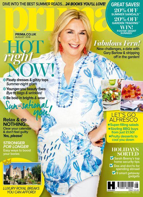 Prima August 2018 cover