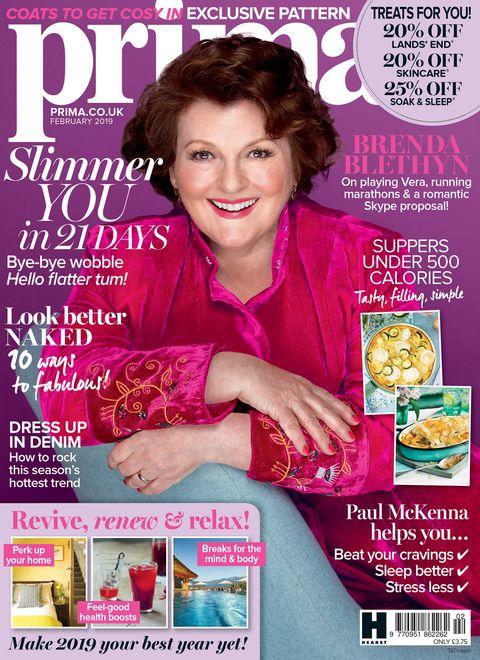 Prima magazine February issue