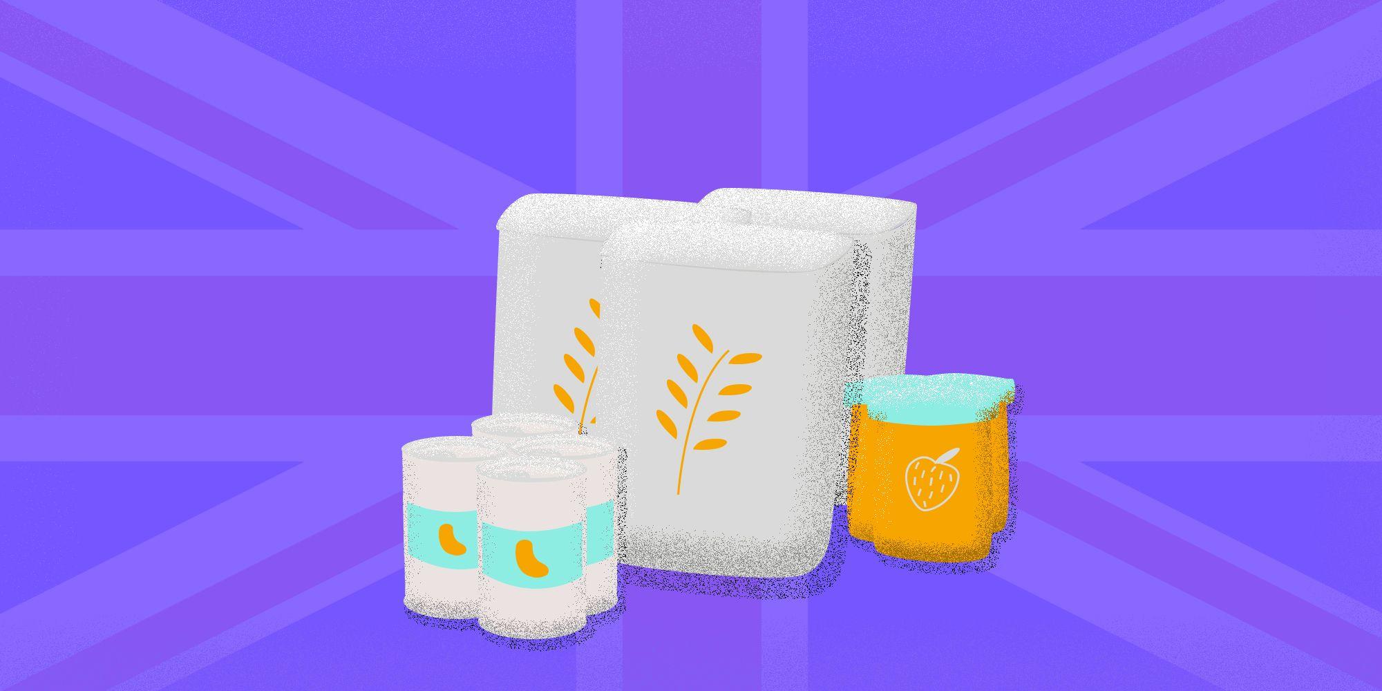 Stockpiling food - Brexitno deal