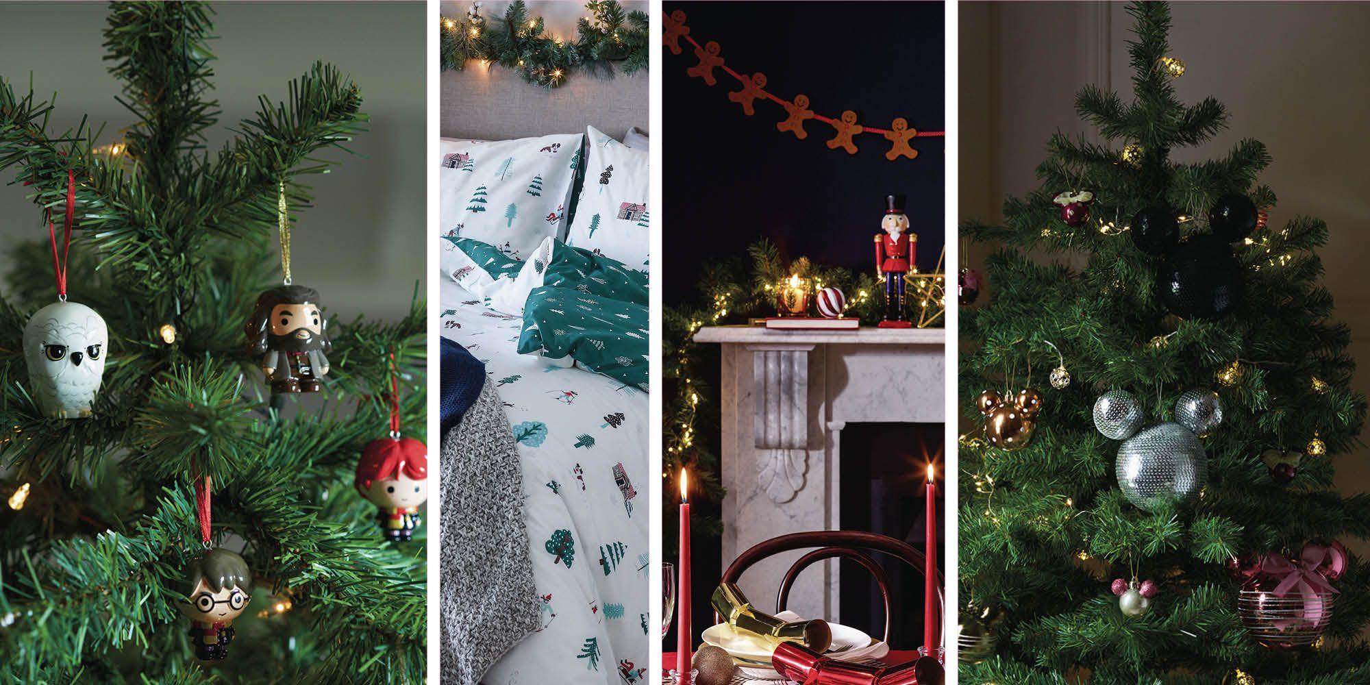 Primark's Christmas homeware range features Harry Potter and Disney decorations