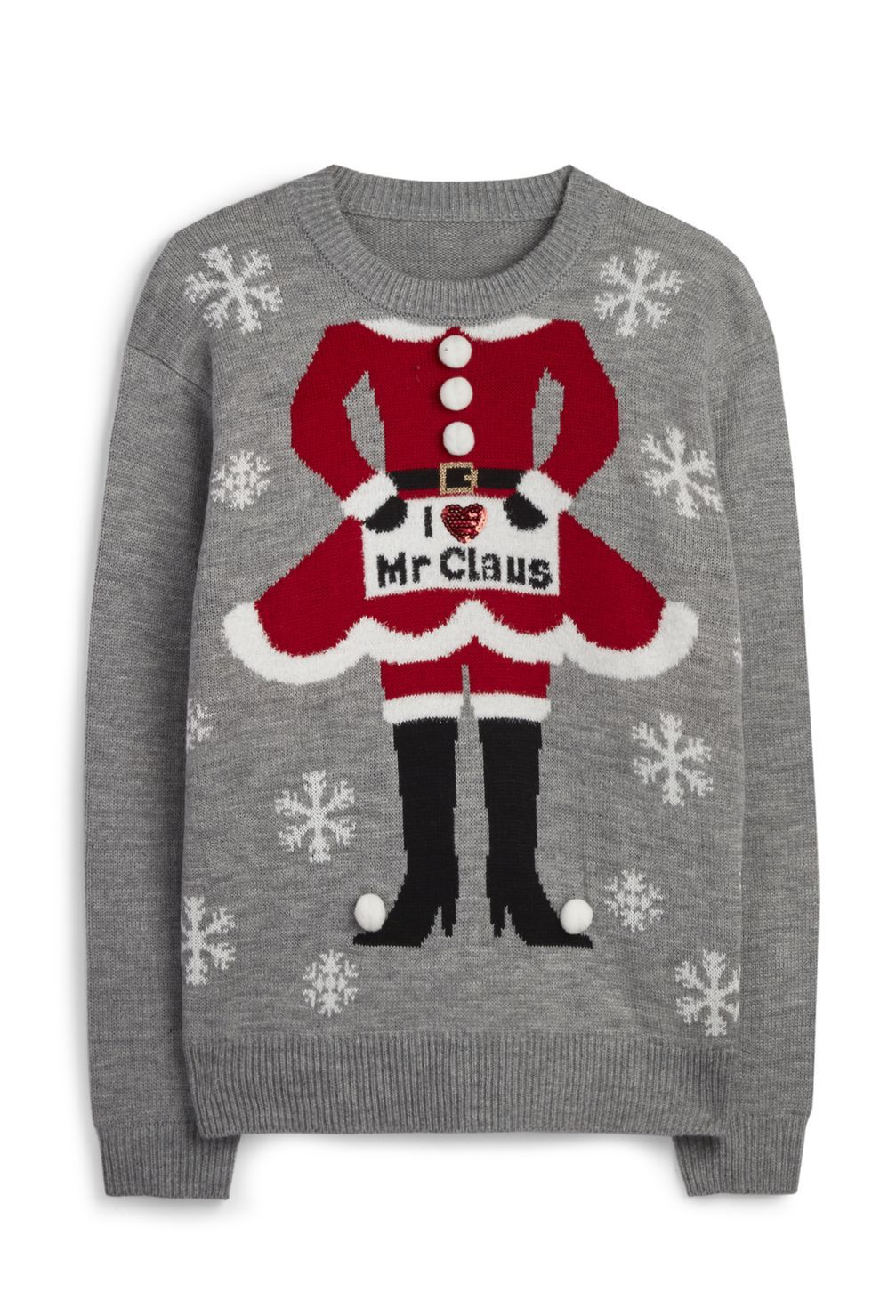 BNWT Primark Snowman Sweater Funny Christmas Jumper and Best Gift