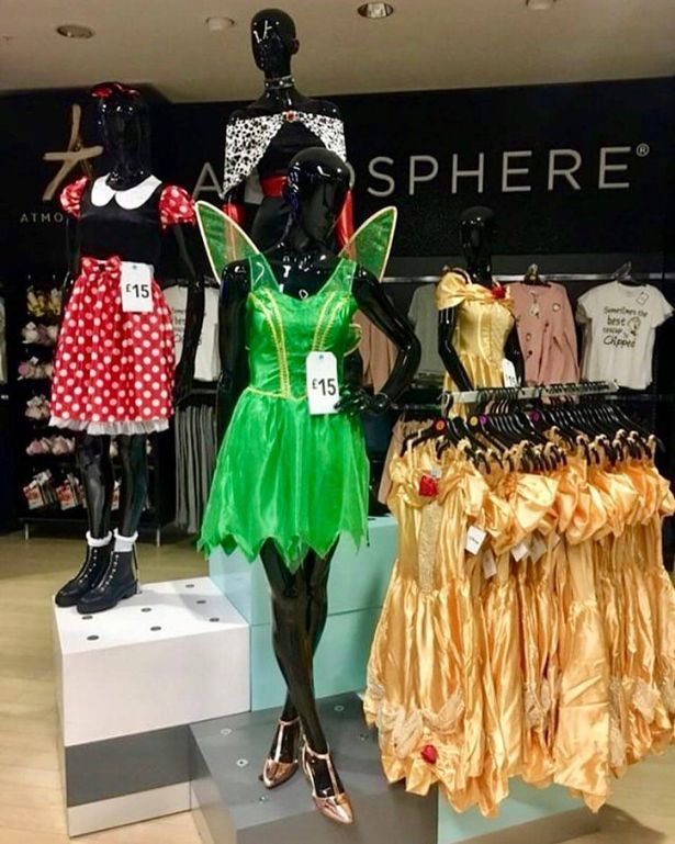 Primark Disney Halloween outfits & Primark is selling Disney Halloween costumes and thatu0027s our outfit ...
