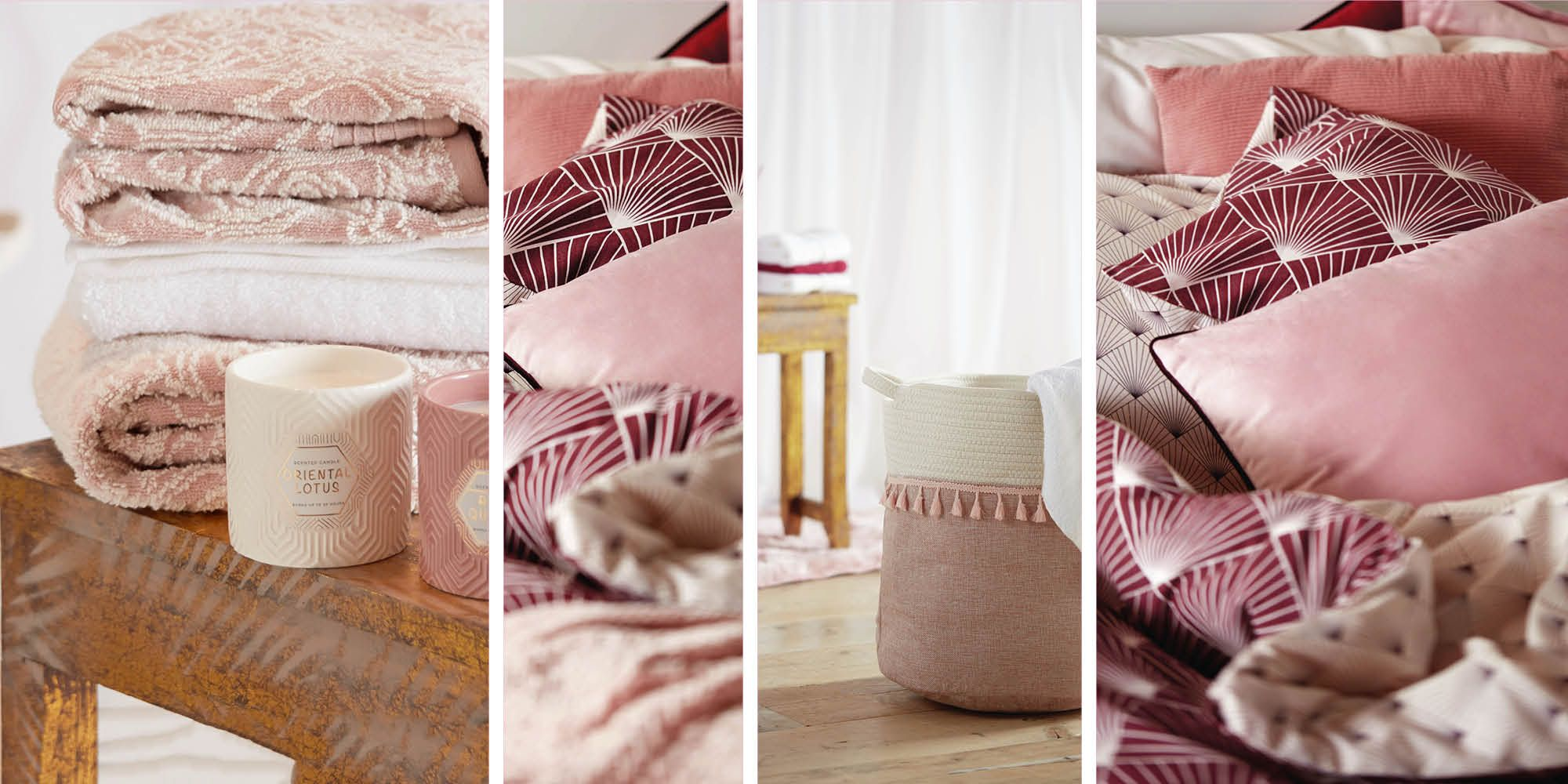 Primark's new A/W homeware collection is full of dusky pink tones