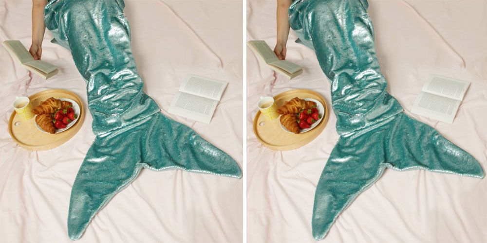 Primark mermaid tail winter blanket