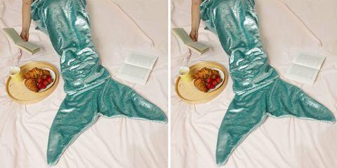 Primark mermaid tail winter blanket