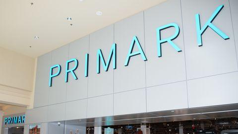 Primark shop sign