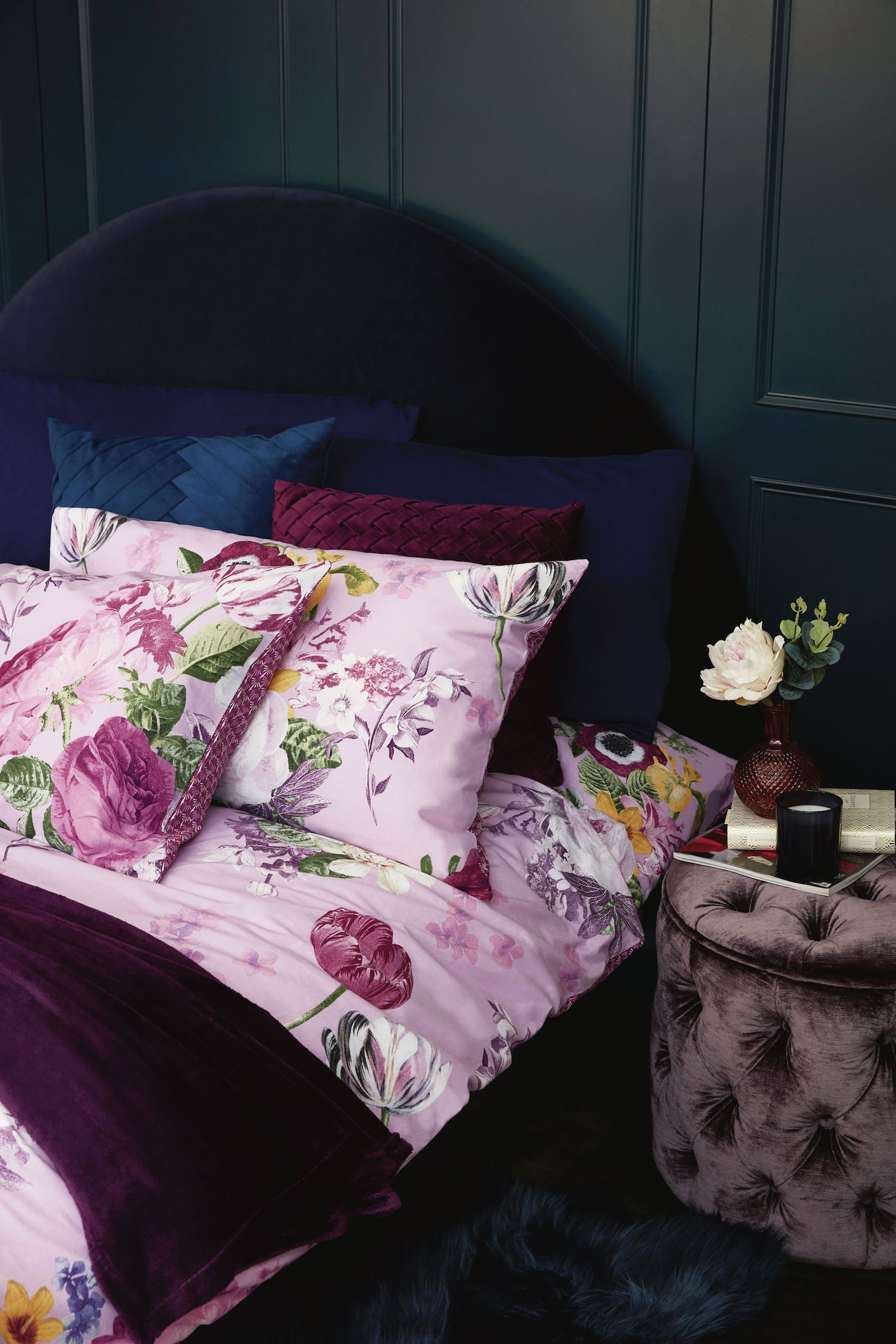 Primark's AW19 collection includes velvet cushions, plush bedding and a £30 bar cart