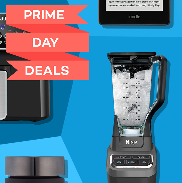 prime day deals air fryer, kindle, blender, airpods, adidas shoes, camera, ring doorbell, dr perricone skincare