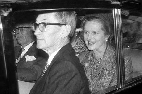 politics   margaret thatcher   balmoral visit   1981