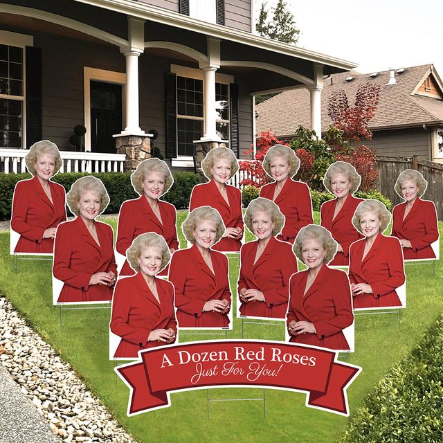 prime party 'the golden girls' a dozen red roses valentine's day