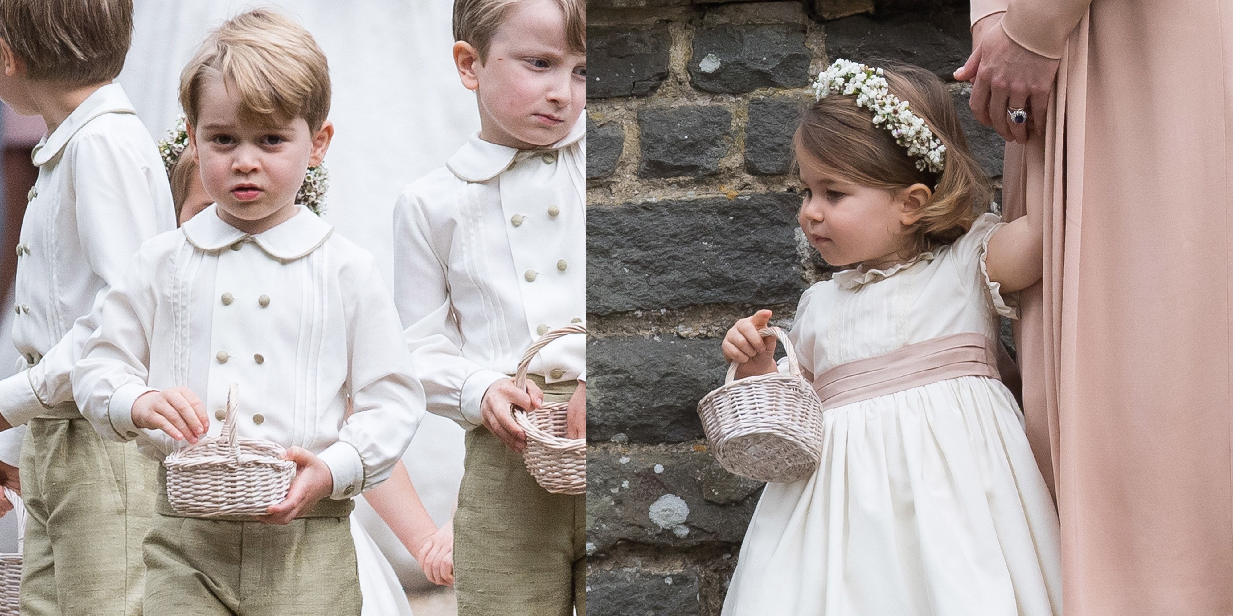 George Charlotte Pippa's wedding