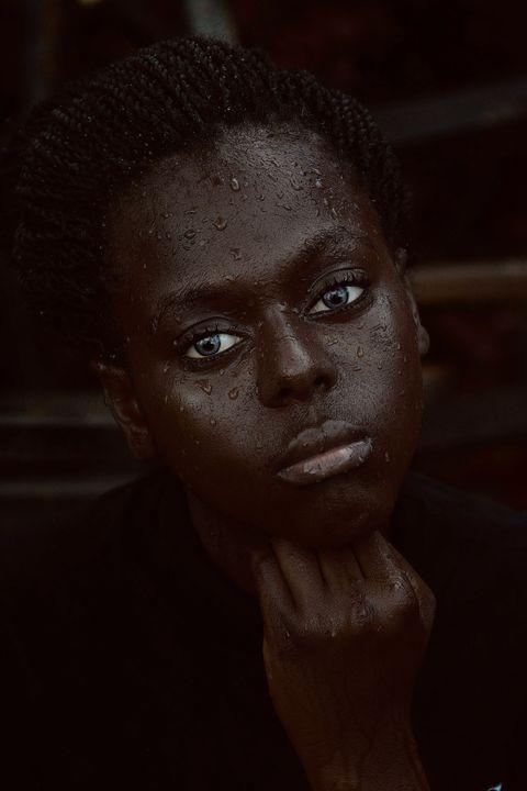 Face, Black, Head, Forehead, Eyebrow, Beauty, Nose, Eye, Portrait, Close-up,