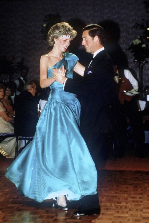 diana and charles dancing