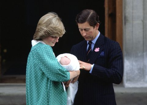 Princess Diana, Prince Charles Baby William
