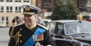Prince Andrew 2015 Service Of Commemoration - Afghanistan