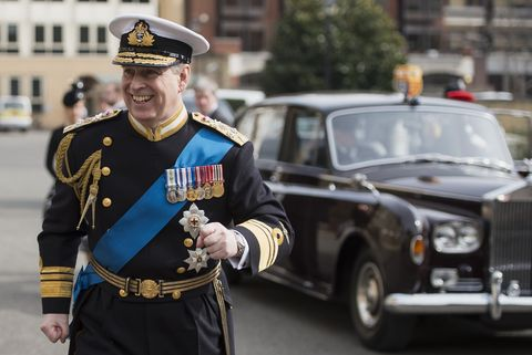 Prince Andrew 2015Service Of Commemoration - Afghanistan