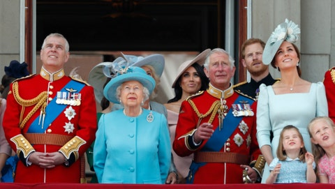 Trooping The Colour 2018