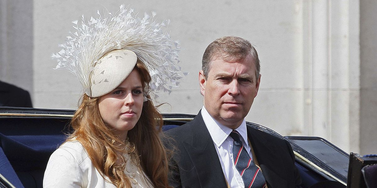 Prince Andrew Will Princess Beatrice Down The Aisle At Her Wedding