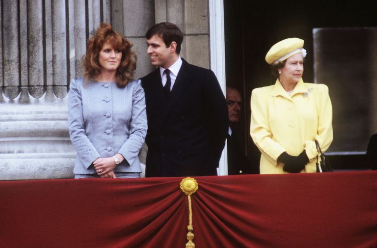 Royal observers have wondered if members of Britain's sometimes-troubled monarchy—like the Duke and Duchess of York, seen here in 1986 with the Queen—have visited family therapists.