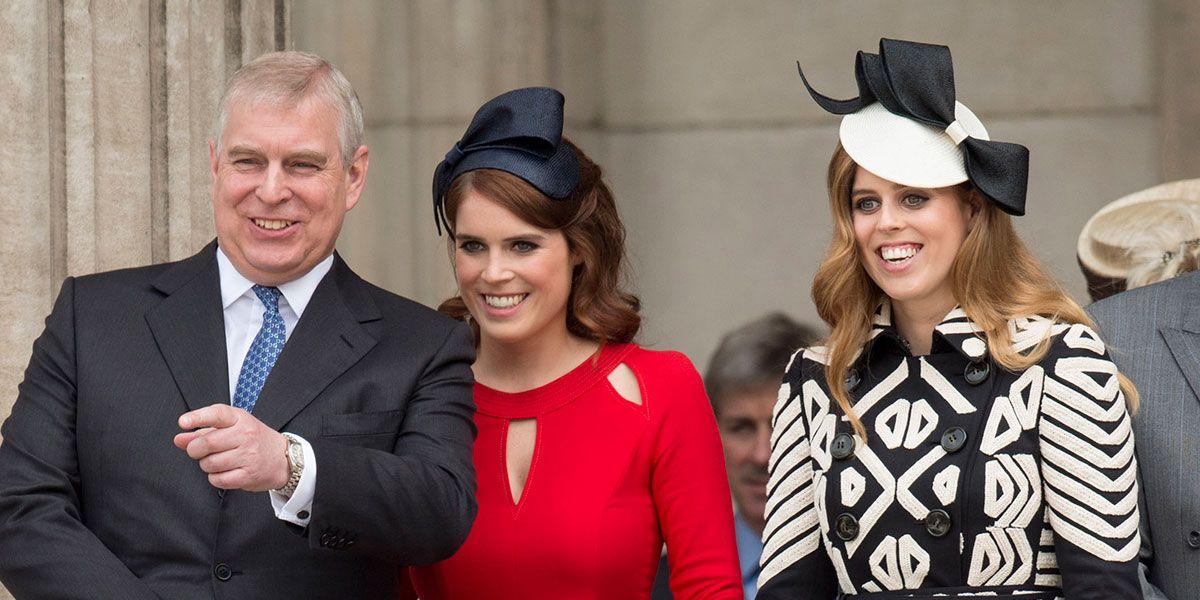 Prince Andrew, Princess Eugenie, Princess Beatrice