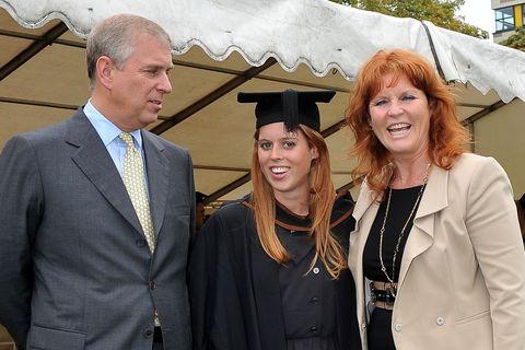 princess beatrice graduation ceremony at goldsmith's college london