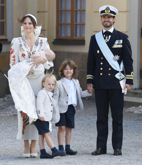 スウェーデン王室一家 カール・フィリップ王子 ソフィア妃