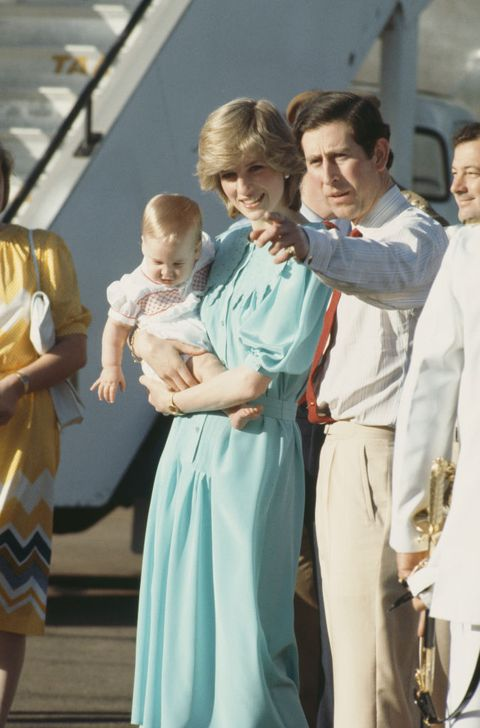 Charles And Diana In Alice Springs