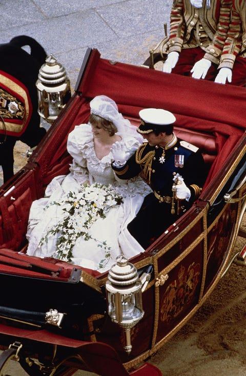 Prince Charles and Princess Diana After Wedding