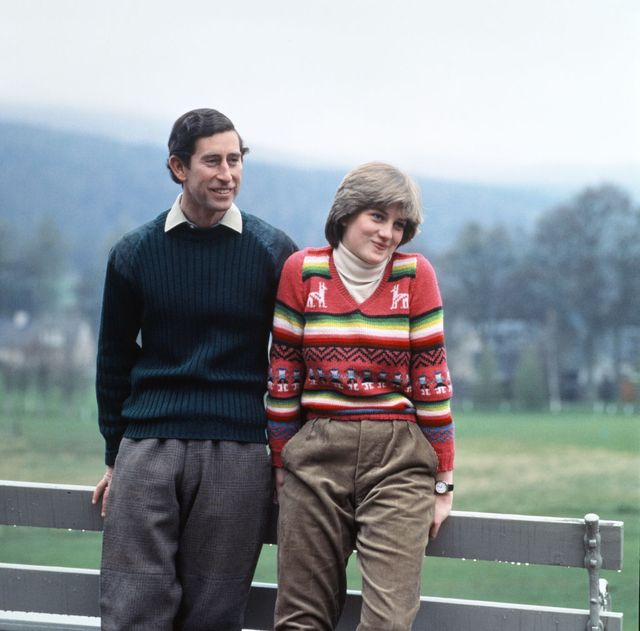 prince charles and lady diana spencer vacationing at balmoral in may 1981 during their engagement