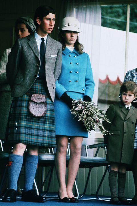 Royal Family at Braemar