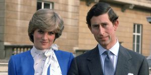 Charles Diana Engagement Day