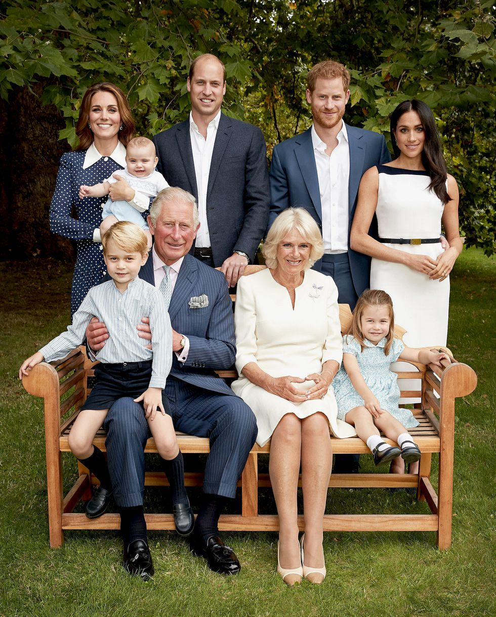 10 details you missed in the new royal family photos for charles's
